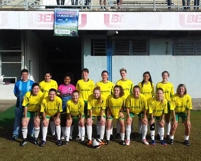 Equipe FFC Capitão estreou na competição com goleada diante do Ale/Lajeadense