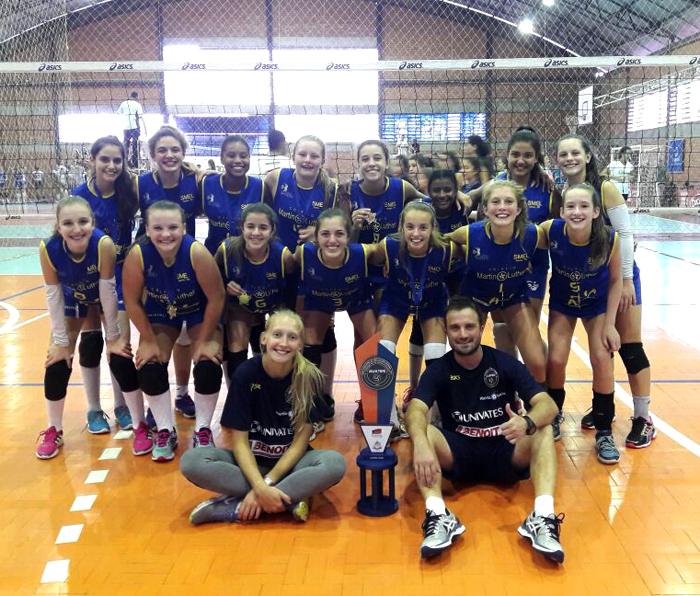 Equipe mirim estreou com título em 2017