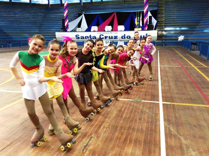 Santa Cruz sedia Campeonato Gaúcho de Patinação