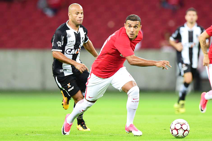 Pottker estreou no Inter marcando gol. Foto: Vinicius Costa/Futura Press