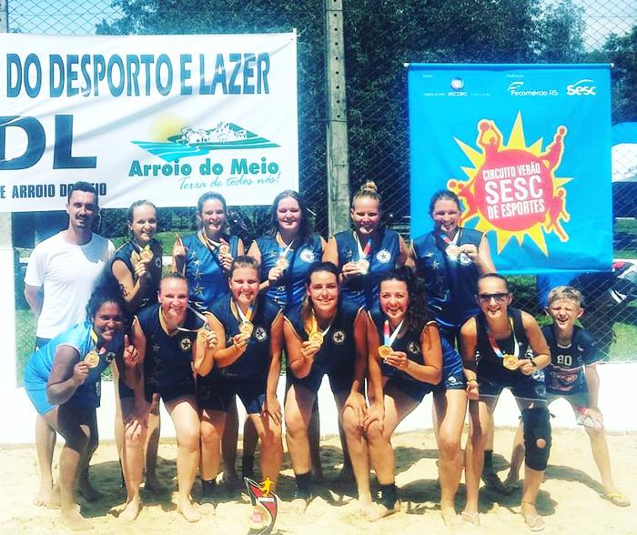 Equipe As Malaguetas venceram as grandes rivais da Eletro Diesel Hirt e carimbaram passaporte para a grande final em Torres